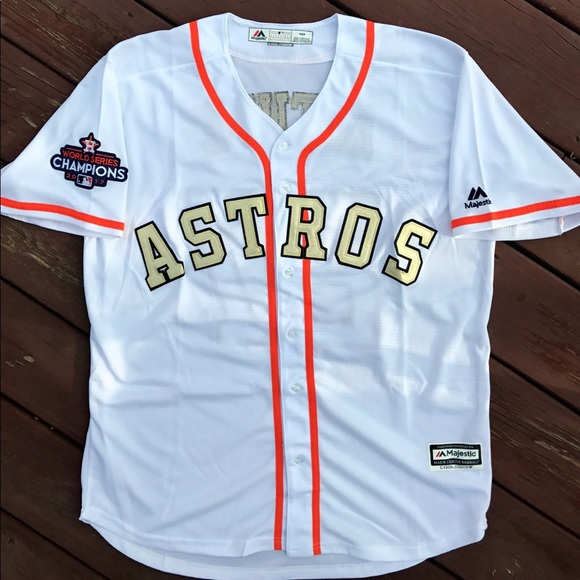 the best attitude a917e e14ee * COMING SOON* George Springer Astros Gold Jerseys